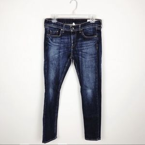 Rag & Bone Dre Slim Blue Jeans Size 27